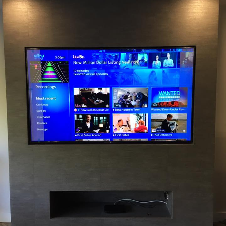 TV Wall Hanging Service Barnt Green