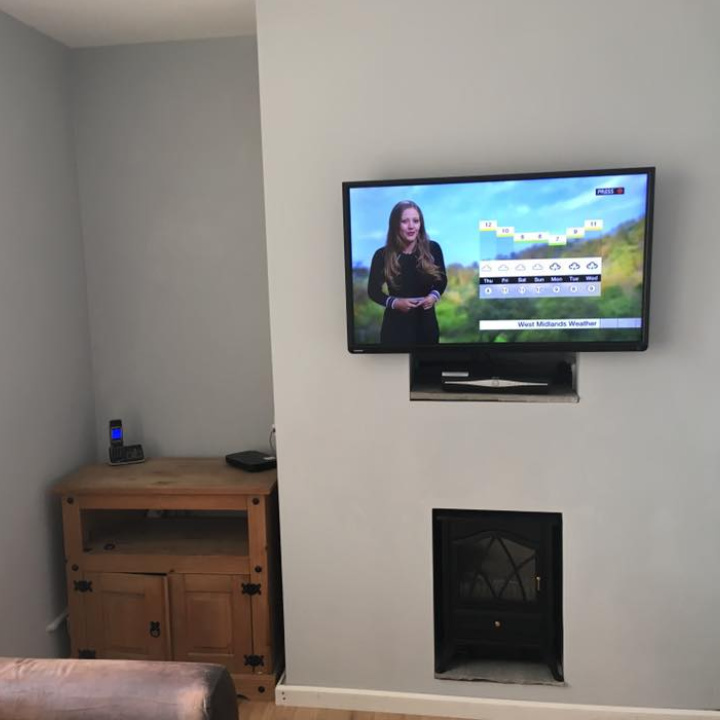 flat tv wall mounting service